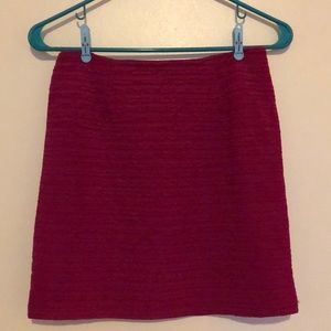 Magenta pink mini skirt M
